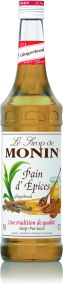 Monin Syrup Gingerbread 1L (plastic)