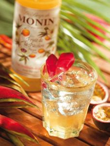 PassionFruit1 Caramel Coffee Syrup Monin Syrups Udal Supplies For Caffe Coffee Bar Club And Restaurants