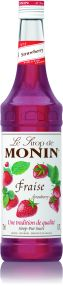 Monin Syrup Strawberry 25cl - Sell by March 2020