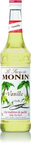 Monin Syrup French Vanilla 1L (plastic) - Discontinued Line AUGUST 2017