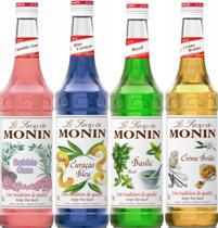 Monin Syrup 1 Case Deal 4x1lt Plastic